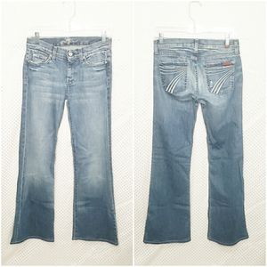 7 For All Mankind Dojo Flare Jeans Size 26